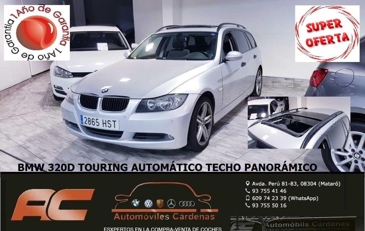 BMW Serie 3 Touring 320d AUTOMATICO TECHO PANORAMICO-LLANTAS 18