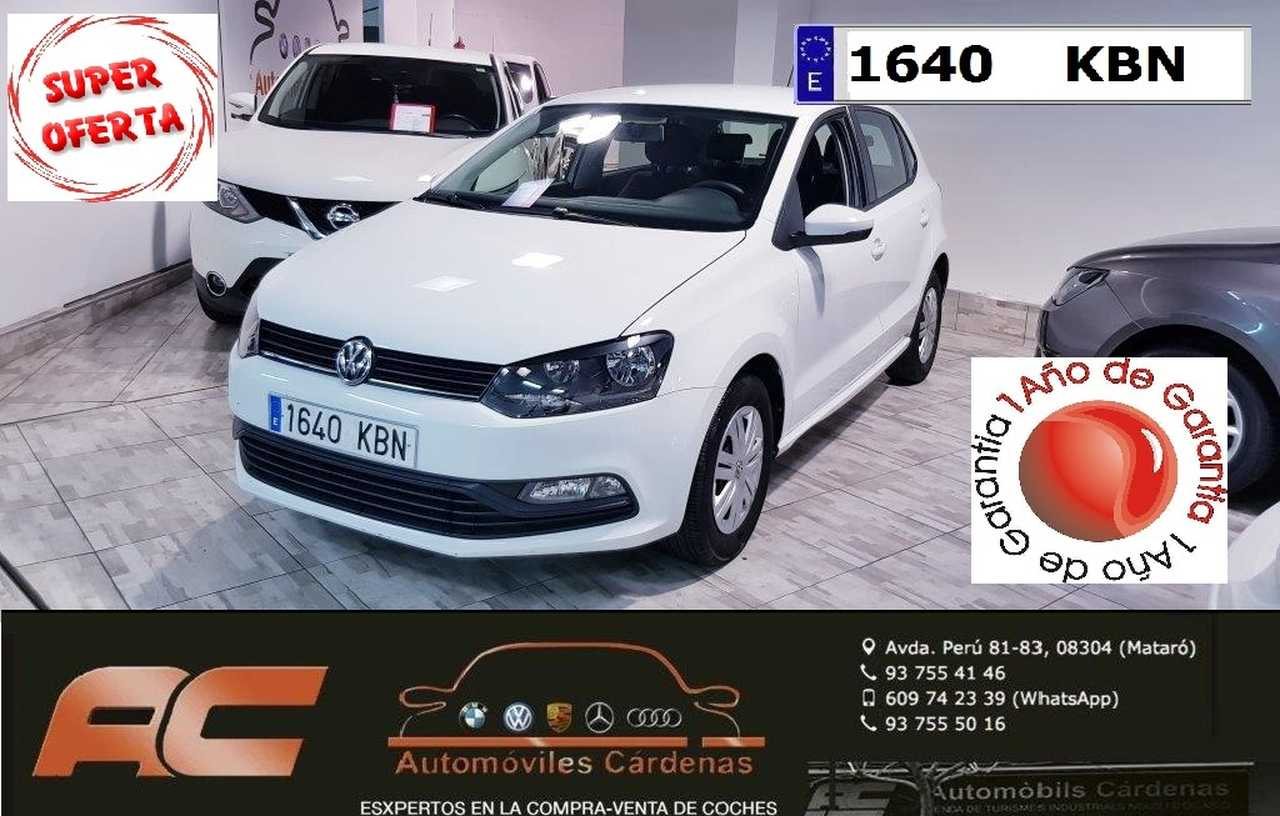 Volkswagen Polo 1.0 75 CV BLUEMOTION EDITION AIRE-BLUETOOTH-USB-PANTALLA TACTIL  - Foto 1