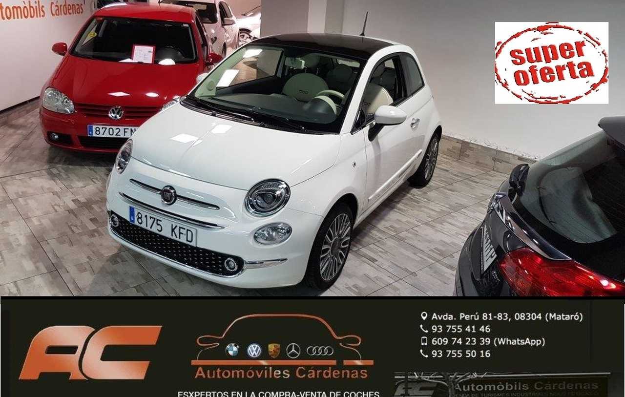 Fiat 500 1.2 69CV LOUNGE 2018 CLIMA-LLANTAS-TECHO PANORAMICO-USB-BLUETOOTH  - Foto 1