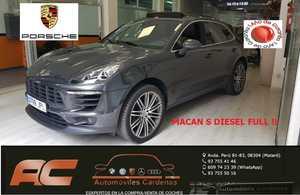 Porsche Macan S DIESEL NAVI-TECHO-LLANTA 21
