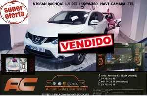 Nissan Qashqai 1.5 DCI 110CV 360 4x2 NAVEGADOR GPS-CAMARA 360-LLANTA 17-CLIMA-USB  - Foto 2