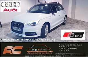 Audi A1 SB 1.0 TFSI 95CV ADRENALIN S-LINE XENON-LLANTAS 17