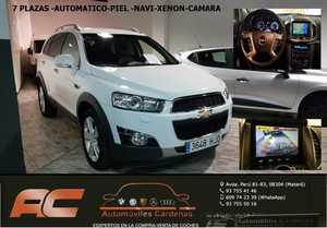 Chevrolet Captiva 2.2 CVDI 184CV XLT 4X4 AUTOMATICO CUERO-NAVEGADOR-CAMARA-TEL-LLANTA 19