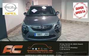 Opel Zafira  Tourer    1.6 CDTI 136CV SELECTIVE 7 PLAZAS-NAVEGADOR GPS-PDC DEL Y TRASEO  - Foto 3