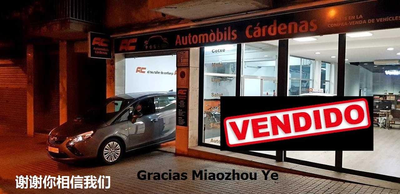 Opel Zafira  Tourer    1.6 CDTI 136CV SELECTIVE 7 PLAZAS-NAVEGADOR GPS-PDC DEL Y TRASEO  - Foto 1