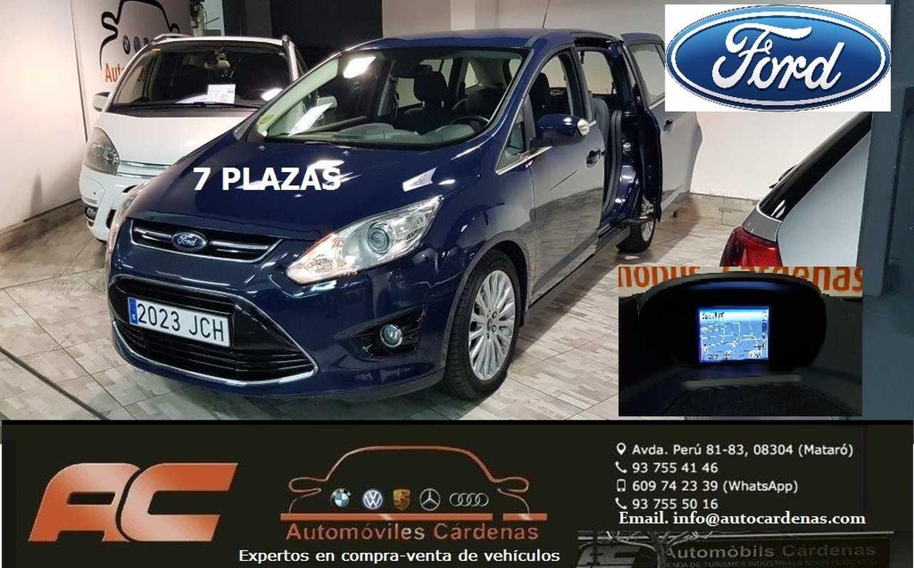 Ford Grand C-MAX 2.0 TDCI 140CV TITANIUM 7 PLAZAS 7 PLAZAS-CLIMA-NAVI-XENON-CAMARA  - Foto 1