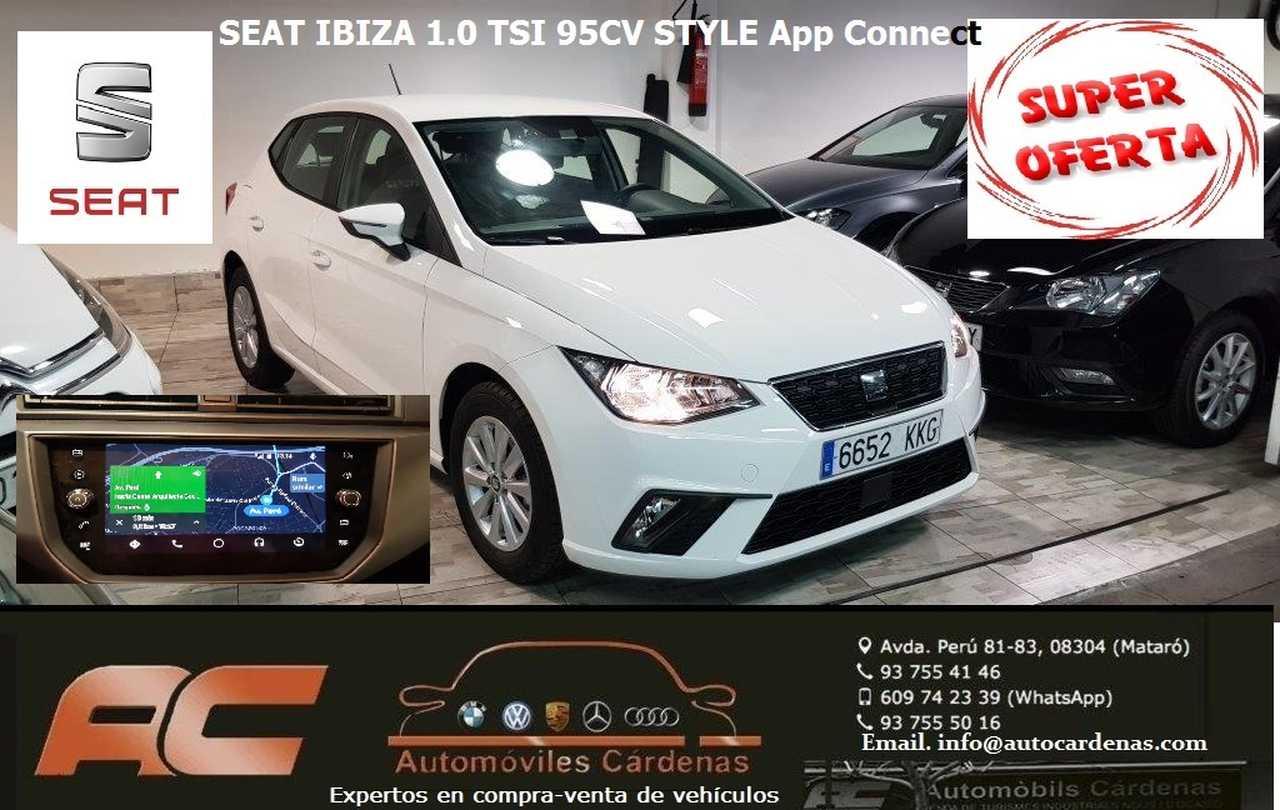 Seat Ibiza 1.0 TSI 95CV STYLE A APP CONNECT-FULL LINK-CLIMA-LLANTAS-DOBLE USB-TEL  - Foto 1