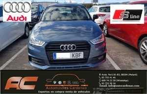 Audi A1  Sportback SB 1.0 TFSI 95CV ADRENALIN S-LINE XENON-LLANTAS 17