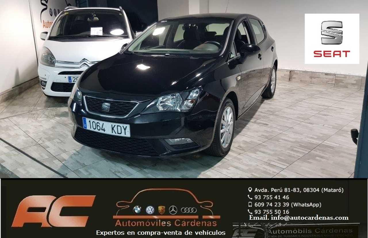 Seat Ibiza 1.4 TDI 105CV STYLE 5 PUERTAS CLIMA-LLANTAS-USB-SENSORES APARC T  - Foto 1