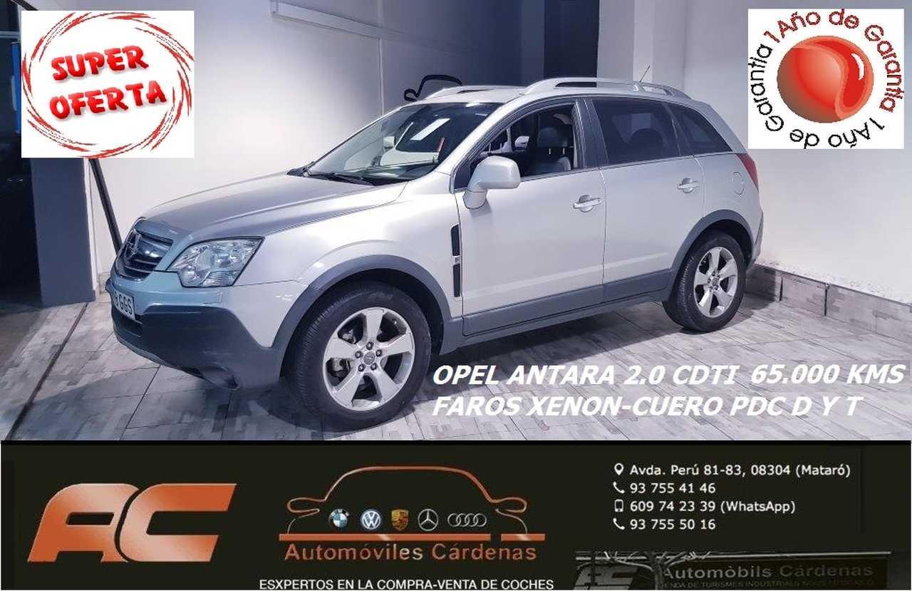 Opel Antara 2.0 CDTI 150CV4X4 COSMOS PLUS XENON-CUERO-ASIENTOS CALEFACCION  - Foto 1