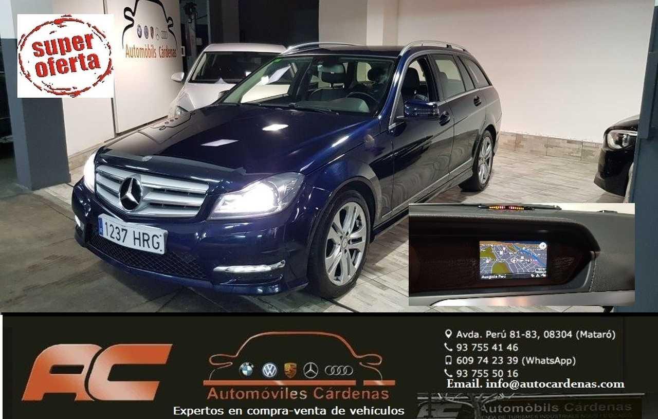 Mercedes Clase C Estate 220 CDI ESTATE AVANTGARDE AUTOMATICO NAVI-BI XENON-BLUETOOTH-SENSORES APARC DEL Y T  - Foto 1