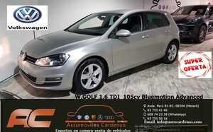 Volkswagen Golf 1.6 TDI 105CV BLUEMOTION ADVANCED CLIMA-LLANTA 16