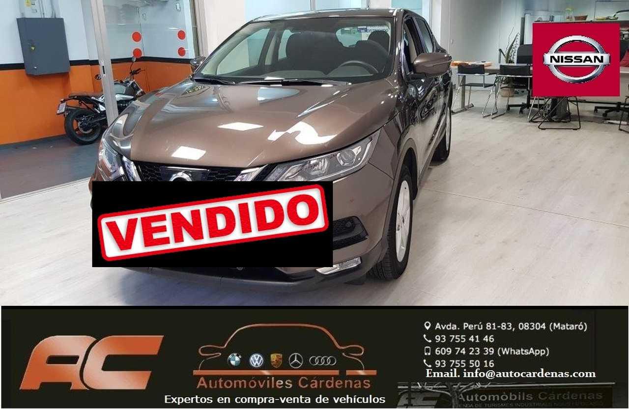 Nissan Qashqai 1.5 DCI 110CV 4X2 ACENTA CLIMA-USB-LLANTAS-PDC DEL Y TRAS-NIEBLAS  - Foto 1