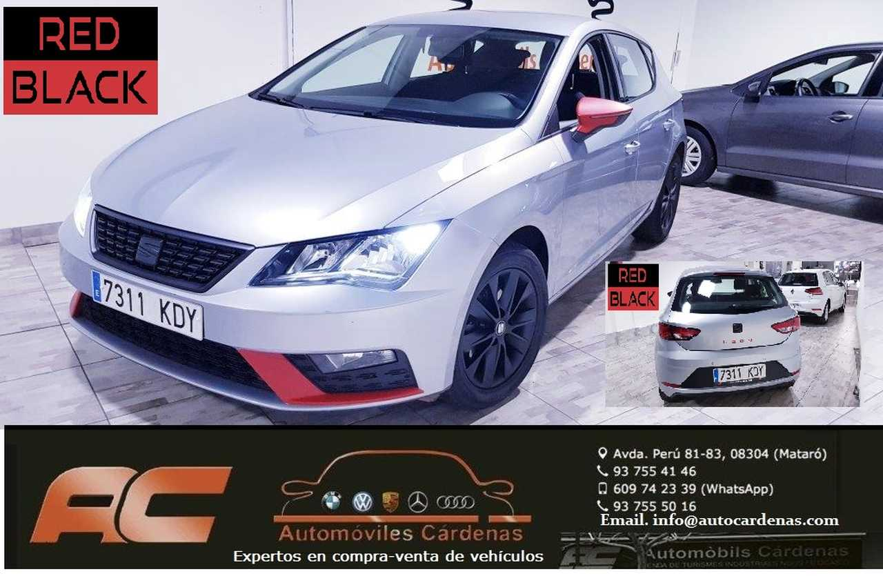 Seat Leon 1.2 TFSI 110CV STYLE RED & BLACK CLIMA-USB-LLANTAS-PDC T-NIEBLAS  - Foto 1