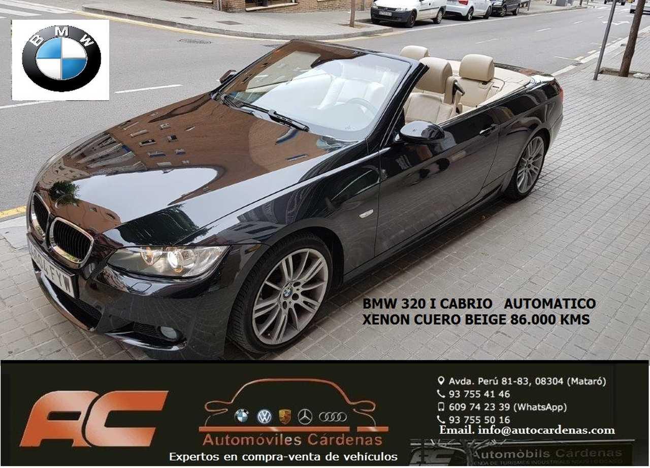 BMW Serie 3 Cabrio 2.0I AUTOMATICO PACK M  CUERO BEIGE-XENON-PDC T-ASIENTOS DEPORTIVOS  - Foto 1
