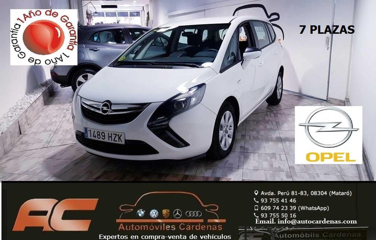 Opel Zafira  Tourer    2.0 CDTI 130CV EXPRESION 7 PLAZAS 6 VELICIDADES  - Foto 1