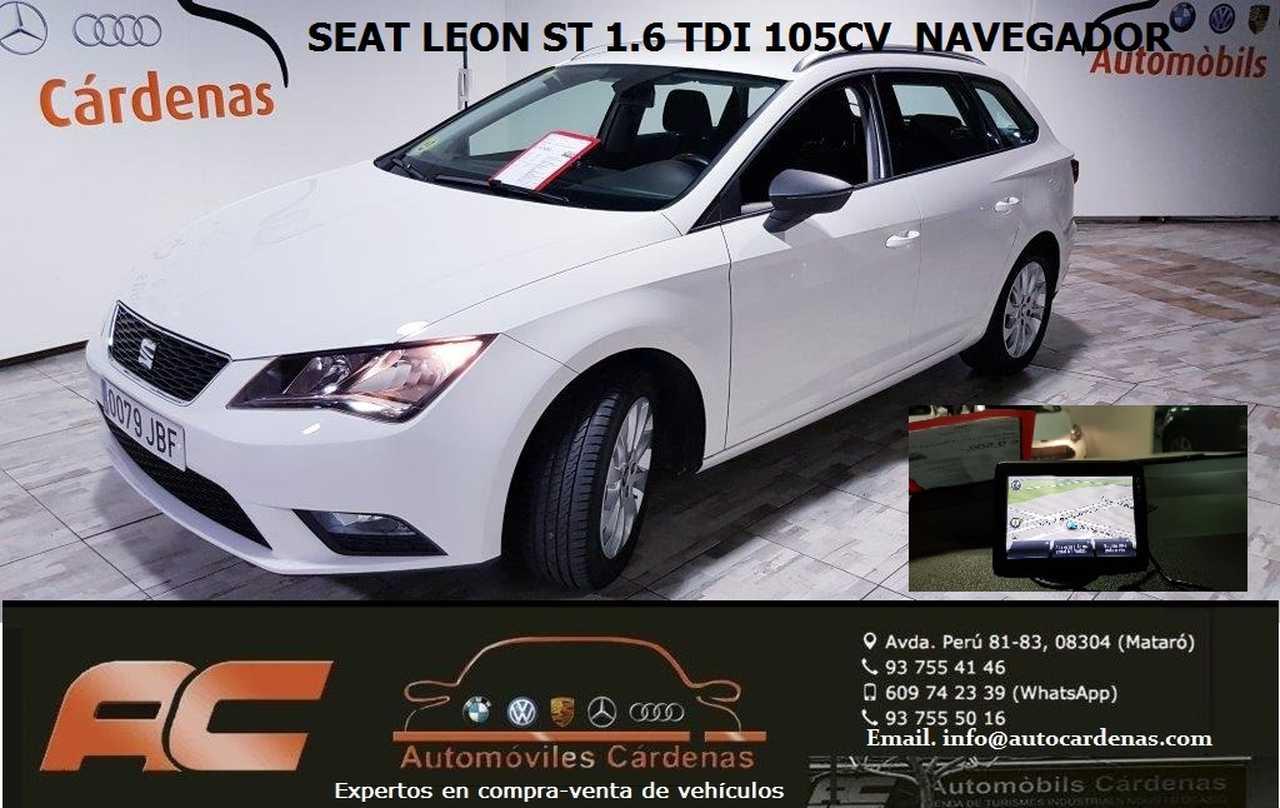 Seat Leon ST 1.6 TDI 105CV STYLE CLIMA-USB-ENGANCHE-LLANTAS  - Foto 1