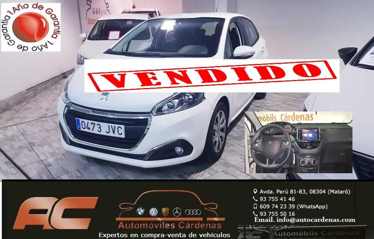 Peugeot 208 ACTIVE 1.6 BLUEHDI 75CV PANTALLA TACTIL-USB-BLUETOOTH  - Foto 1