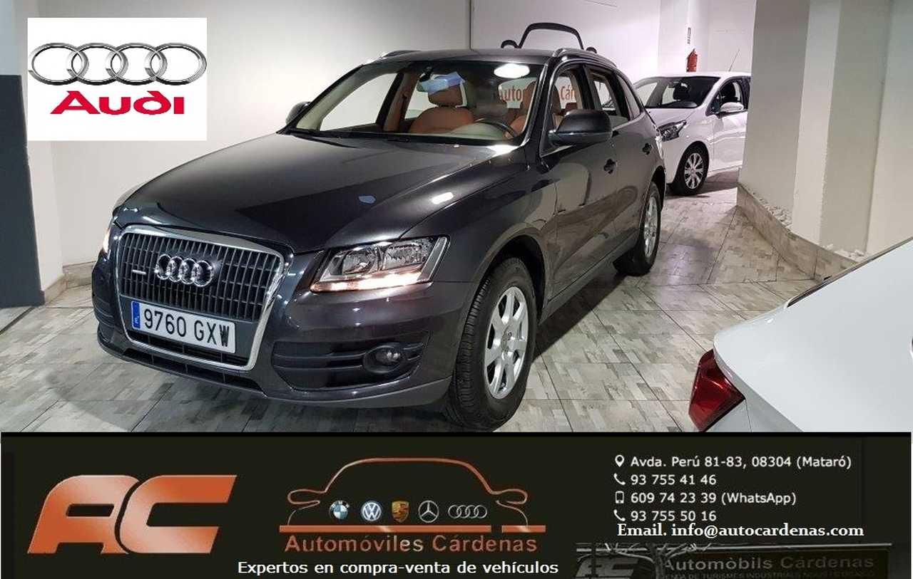 Audi Q5 2.0 TDI 170CV QUATTRO S-TRONIC CUERO BEIGE-BOLA REMOLQUE  - Foto 1