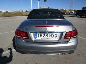 Mercedes Clase E Cabrio E 350 UN SOLO PROPIETARIO, CERTIFICADO DE KM Y CARROCERIA   - Foto 3