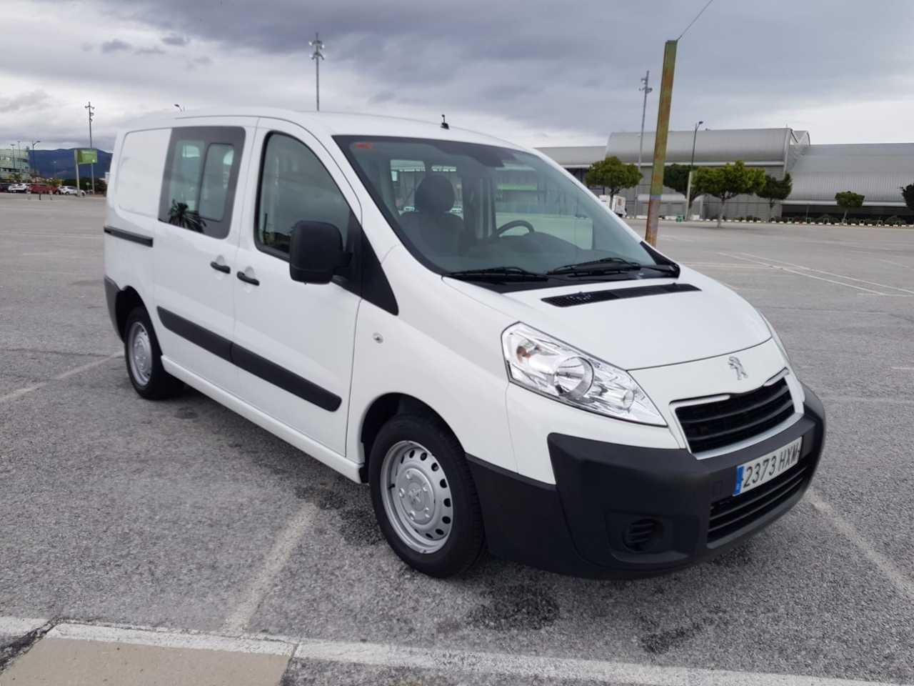 Peugeot Expert 1.6 HDI COMBI 6 PLAZAS MUY EQUIPADA CERTIFICADO DE KM Y CARROCERIA  - Foto 1