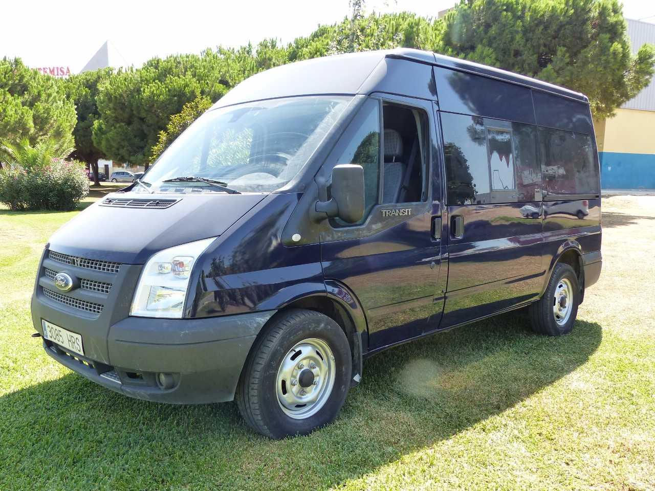 Ford Transit  Minibus y Kombi 330 M SEMIELEVADA 9 PLAZAS, CLIMATIZADA. certificada de km y carroceria  - Foto 1