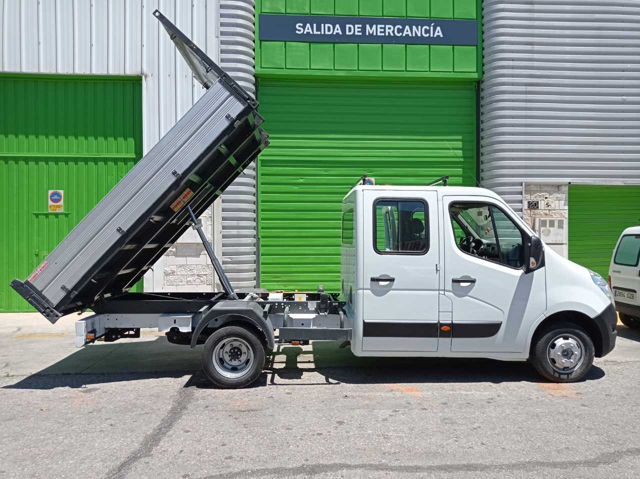 Renault Master Furgon 2.3 CDI DOBLE CABINA VOLQUETE RUEDA GEMELA CERTIFICADO DE KM Y CARROCERIA  - Foto 1