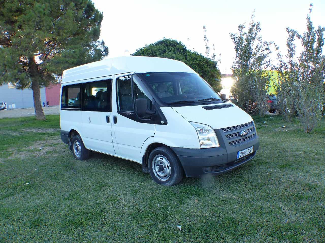 Ford Transit  Minibus y Kombi 280 SEMIELEVADO 100CV SEIS VELOCIDADES CERTIFICADO DE KM Y CARROCERIA  - Foto 1