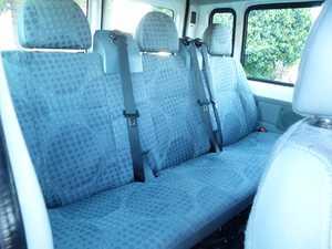 Ford Transit  Minibus y Kombi 280 SEMIELEVADO 100CV SEIS VELOCIDADES CERTIFICADO DE KM Y CARROCERIA  - Foto 3