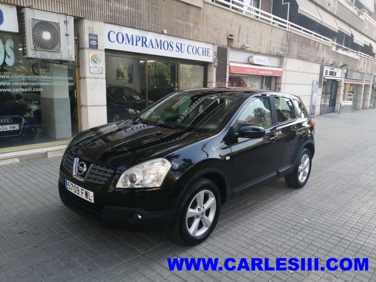 Nissan Qashqai 2.0 dCi TEKNA 4x4 AT NavCaVPiel Negra   - Foto 1