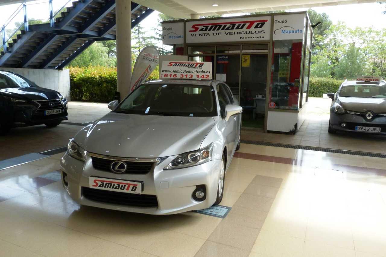 Lexus CT 200h CT 200h Pack Hybrid Plus 5p UN SOLO PROPIETARIO LIBRO DE REVISIONES  - Foto 1