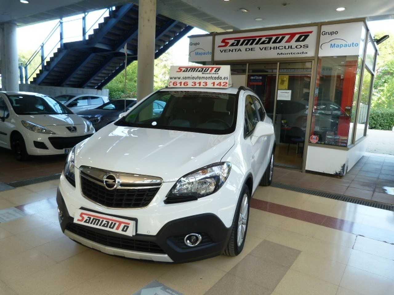 Opel Mokka Mokka 1.6 CDTi 4X2 Excellence Auto 5p UN SOLO PROPIETARIO LIBRO DE REVISIONES  - Foto 1