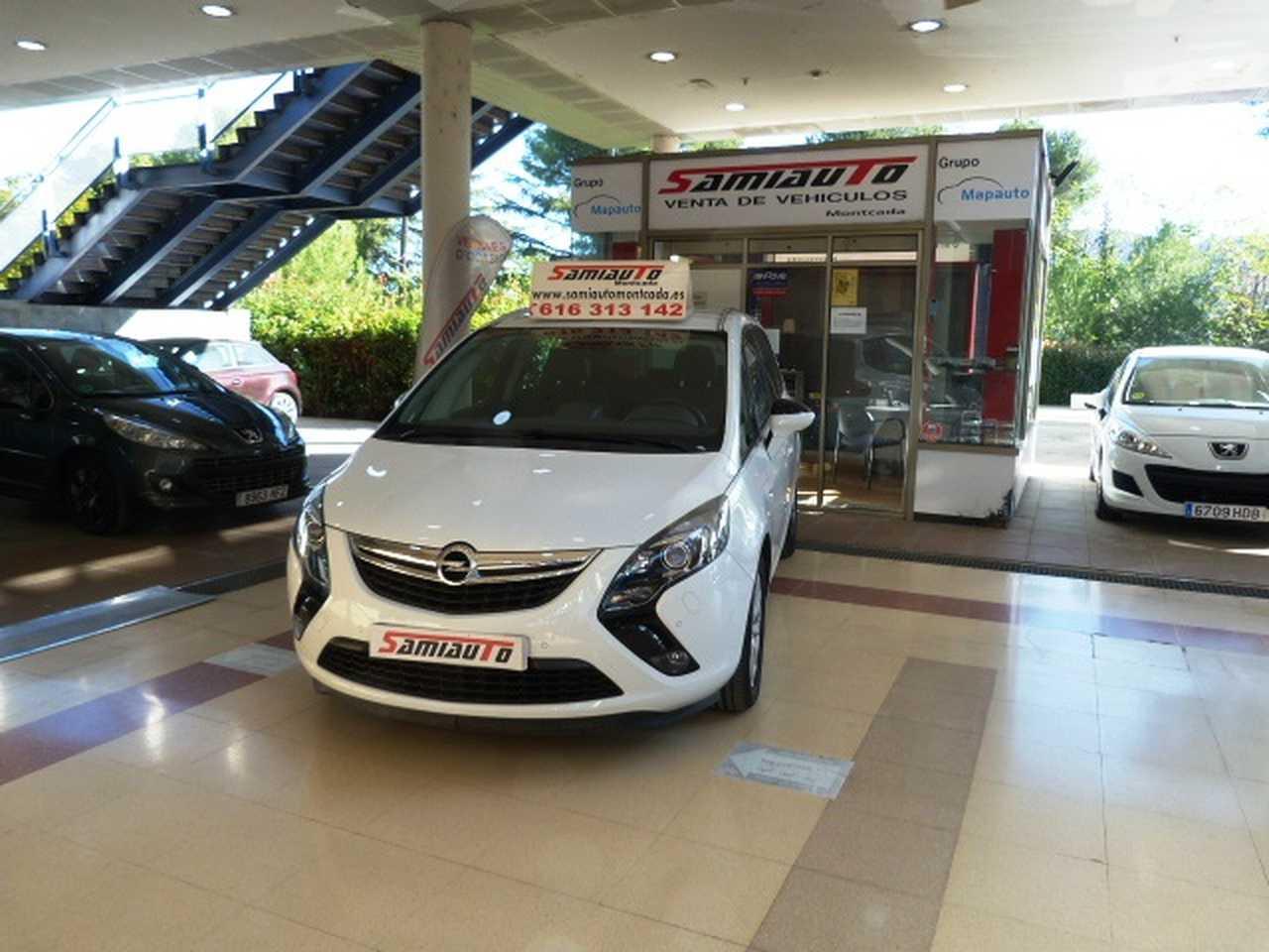 Opel Zafira  Tourer     Tourer 1.6 CDTi SS 136 CV Excellence 5p  MUY MUY BIEN CUIDADO KILÓMETROS CERTIFICADOS  - Foto 1