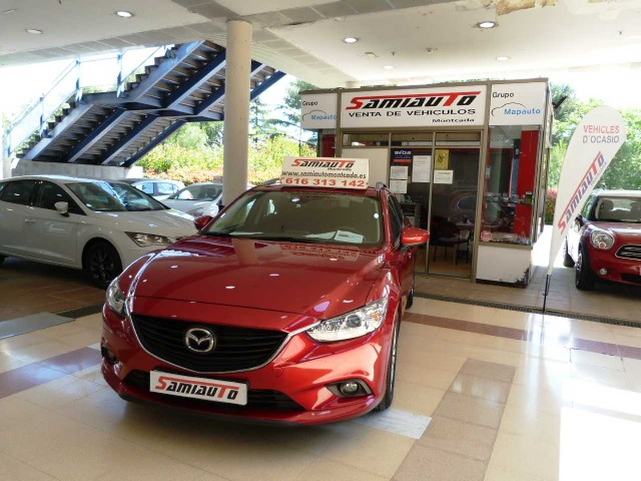 Mazda 6 Wagon 6 2.2 DE 150cv AT Style WGN 5p UN SOLO PROPIETARIO LIBRO DE REVISIONES  - Foto 1