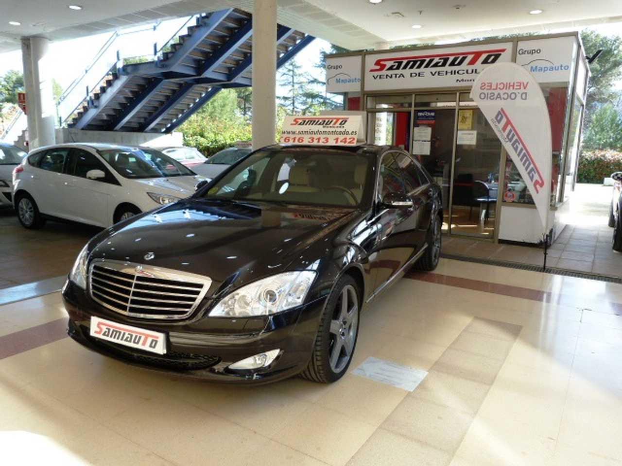 Mercedes Clase S Clase S S 320 CDI 4p. MUY MUY BIEN CUIDADO KILÓMETROS CERTIFICADOS  - Foto 1