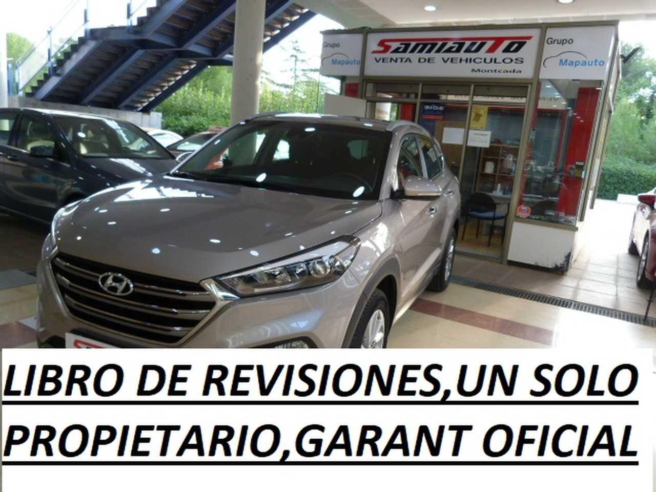Hyundai Tucson HYUNDAI TUCSON 1.7 CRDi 141cv BlueDrive Tecno DCT 4x2 5p. un solo propietario, libro de revisiones  - Foto 1