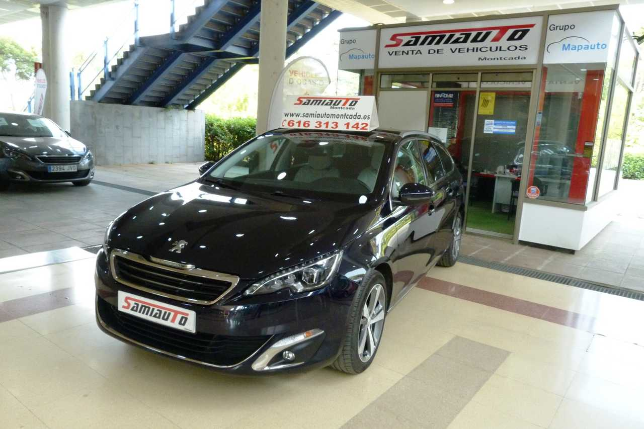 Peugeot 308 SW 1.6 HDI 120 CV SW ALLURE UN SOLO PROPIETARIO LIBRO DE REVISIONES  - Foto 1