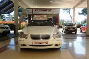 Mercedes Clase C C220 CDI ELEGANCE AUTOMATICO MUY MUY BIEN CUIDADO KILÓMETROS CERTIFICADOS  - Foto 2