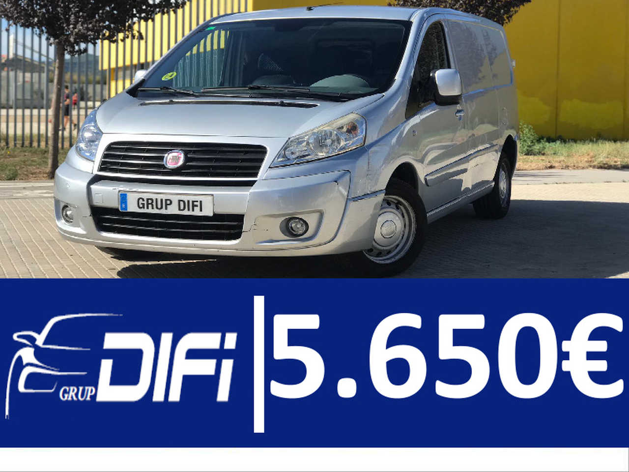 Fiat Scudo Furgon 2.0 MJT 120cv H1 12 Comfort Largo ISOTERMO   - Foto 1