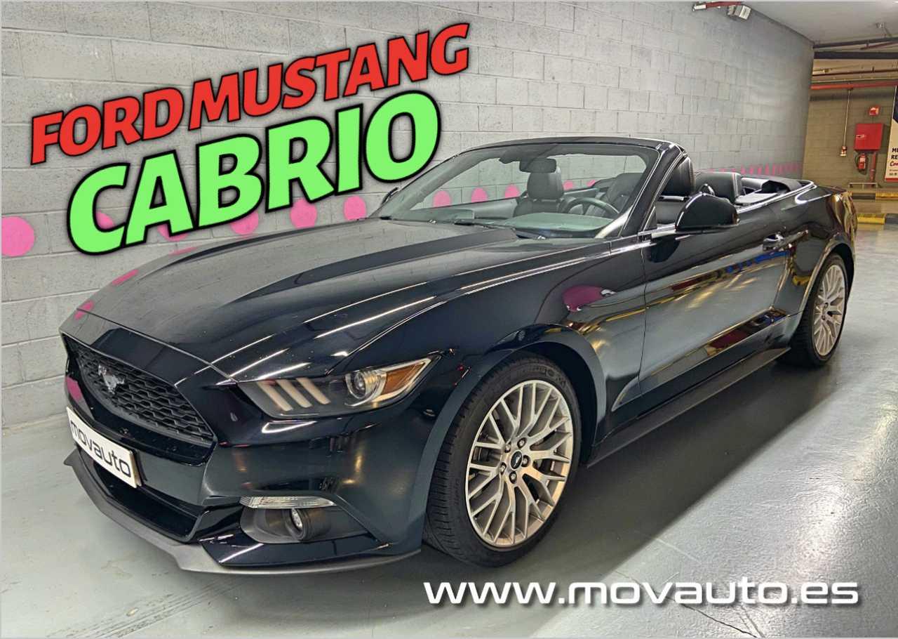 Ford Mustang Cabrio 2.3T 314cv auto.   - Foto 1