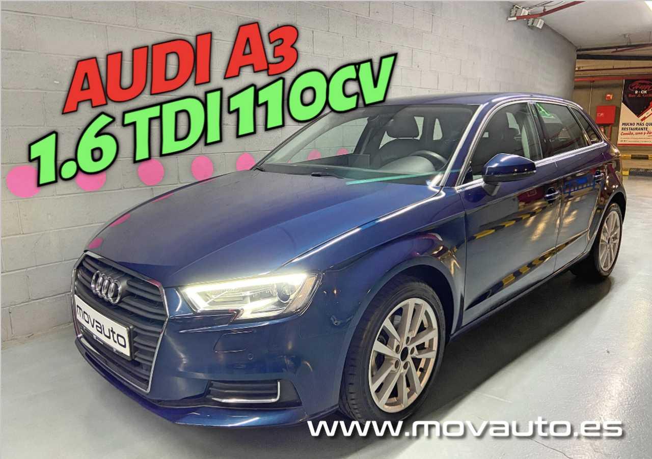 Audi A3 1.6 TDi 110cv Design 5p   - Foto 1