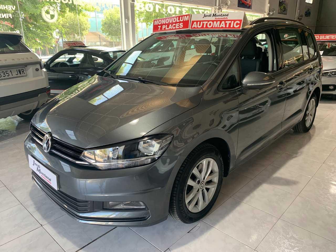 Volkswagen Touran 1.6 TDI 115CV .- '' Automático DSG '' -. 7 Plazas .-