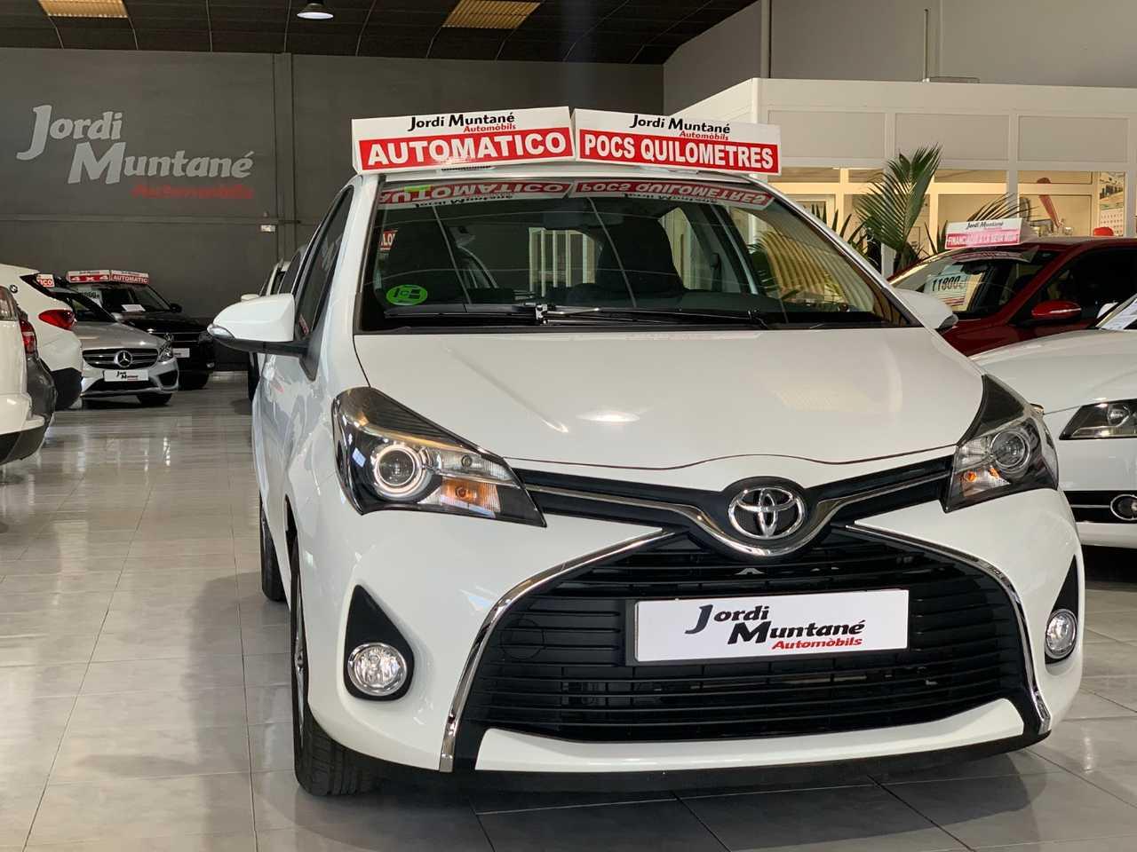 Toyota Yaris 1.3 VVTI 100cv -. '' Solo 8.068 KM '' .- Automático 5 Puertas -.