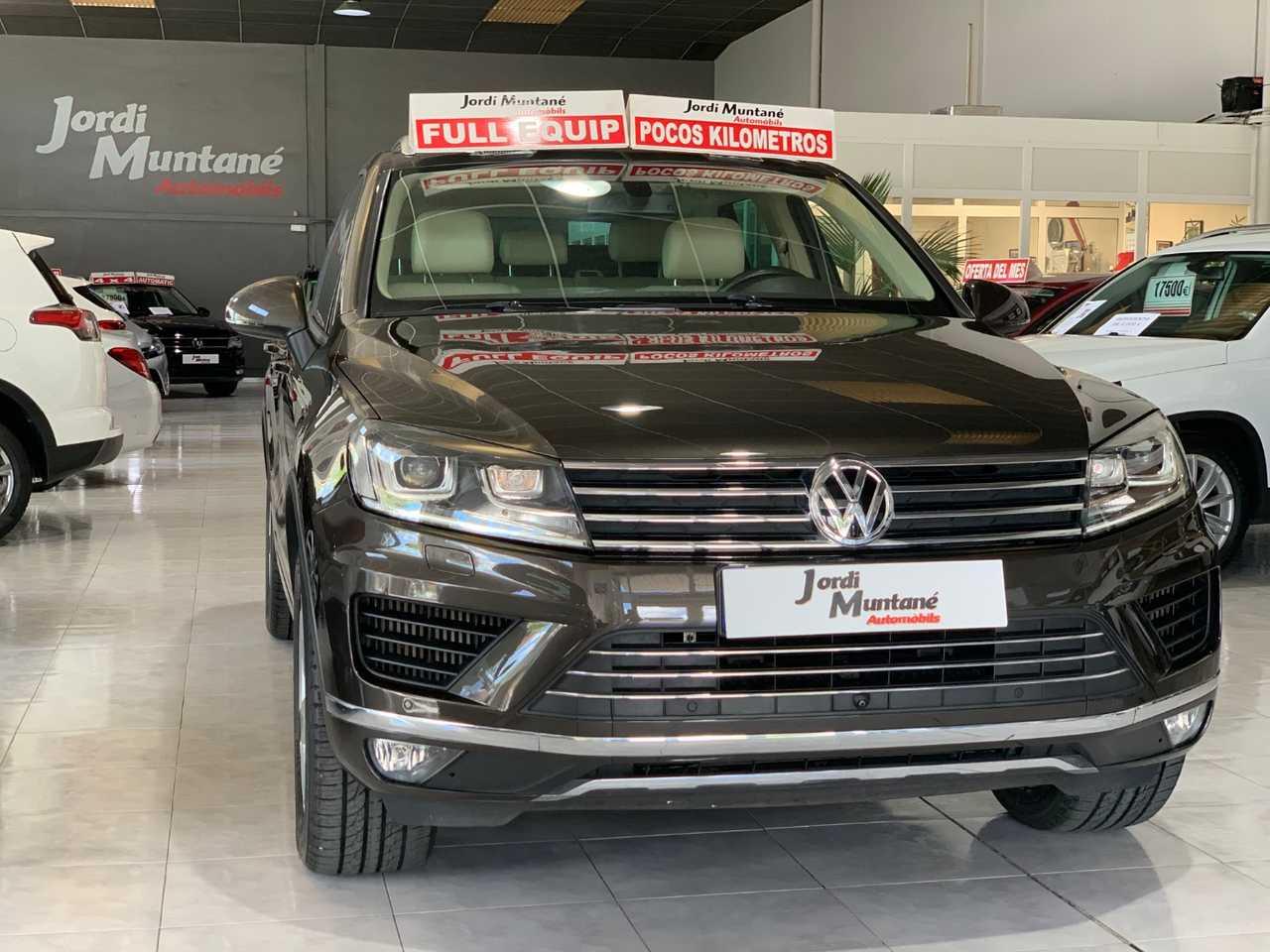 "Volkswagen Touareg 3.0 TDI 262cv V6 BMT Premium -. '' Tiptronic + 4x4 '' .- MUY CUIDADO  -. ""COCHE VENDIDO"".-  - Foto 1"