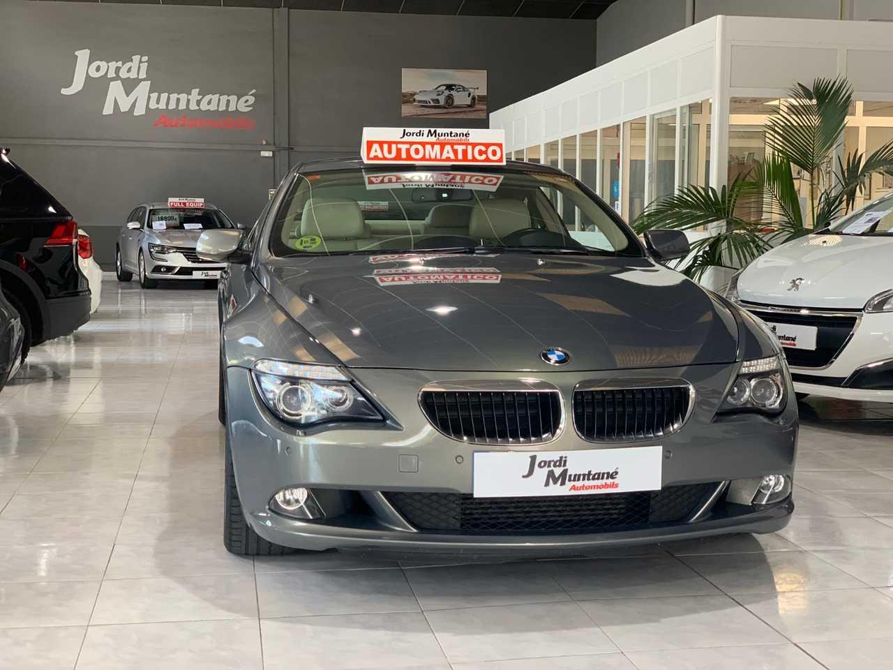 BMW Serie 6 Gran Coupé 635d 286cv -. '' Automático '' .- MUY CUIDADO  -.