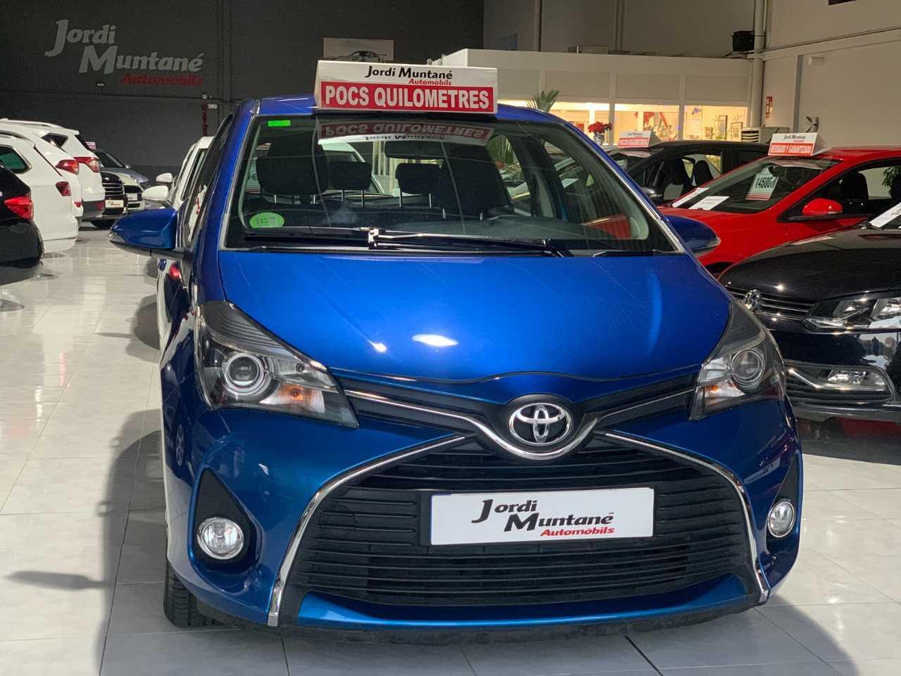 Toyota Yaris 1.3 VVTI 100cv -. '' SOLO 81.665 KM '' .- Active 5 Puertas -.