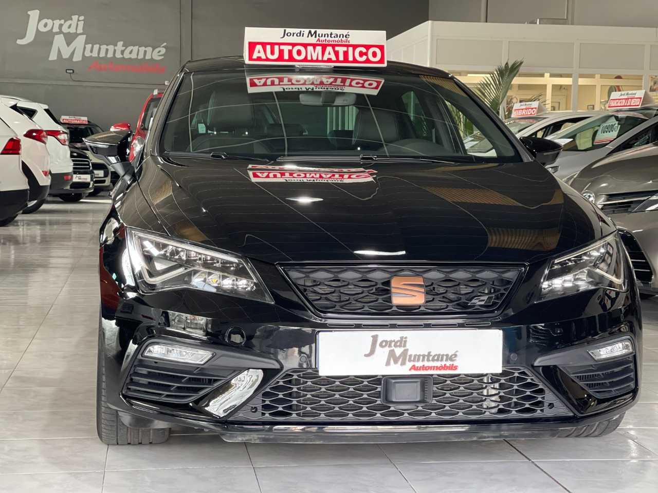 Seat Leon Cupra 2.0 TSI DSG7 290cv -. SOLO 11.881 KM .- Muy Equipado -.   - Foto 1