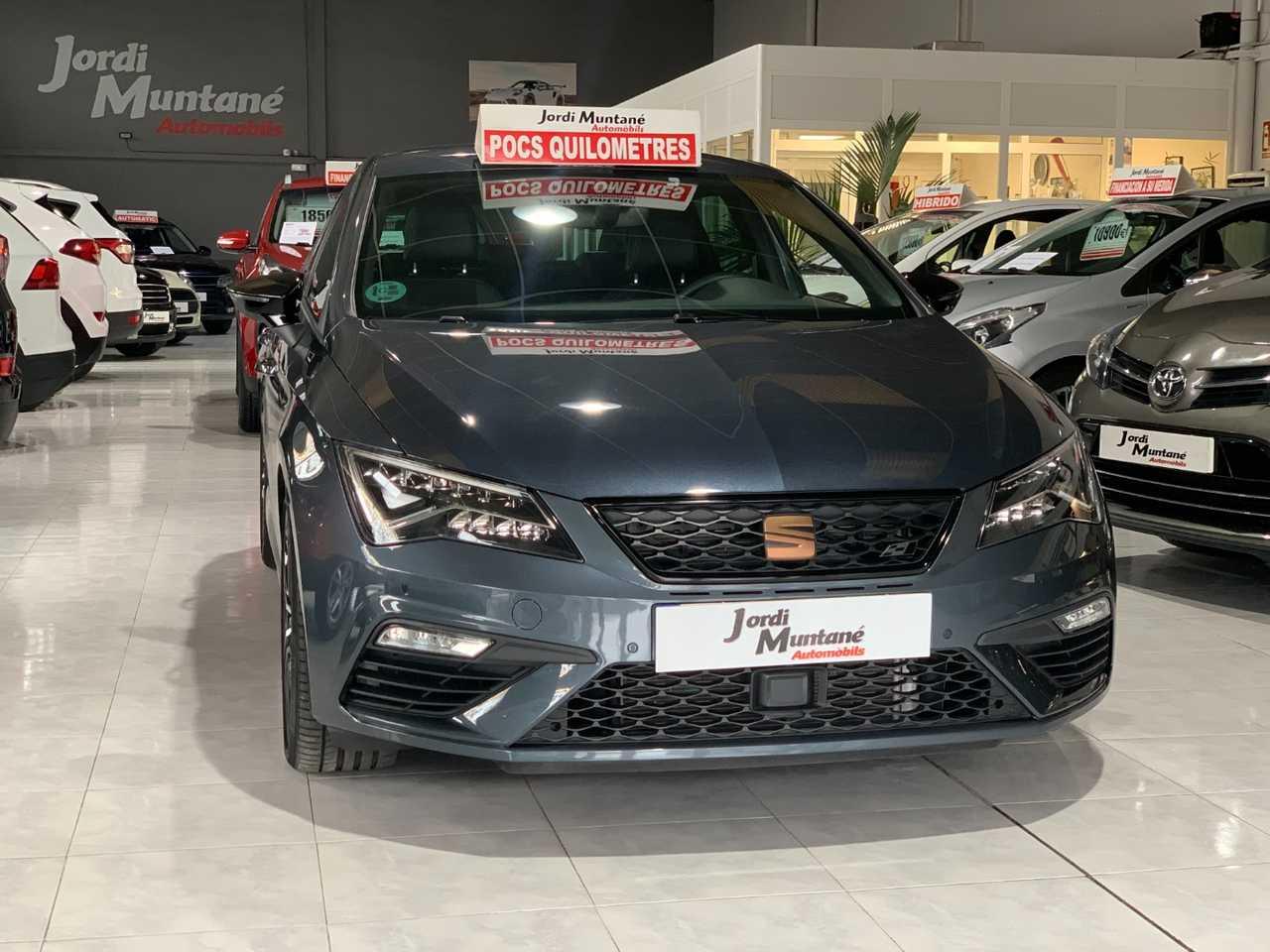 Seat Leon Cupra 2.0 TSI DSG7 290cv -. SOLO 8.413 KM .- Muy Equipado -.