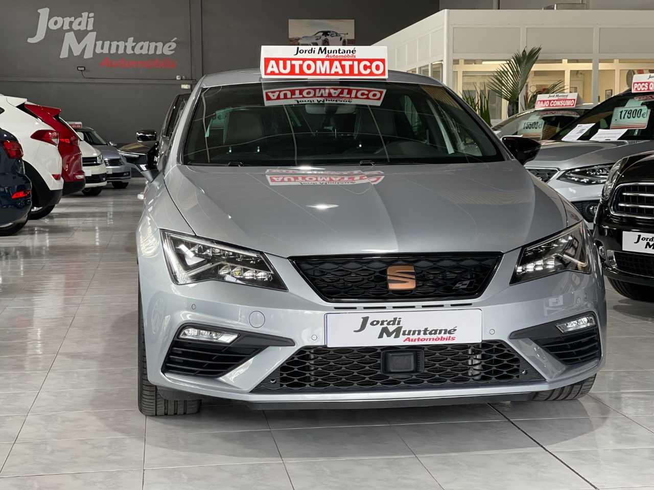 Seat Leon Cupra 2.0 TSI DSG7 290cv -. SOLO 13.581 KM .- Muy Equipado -.