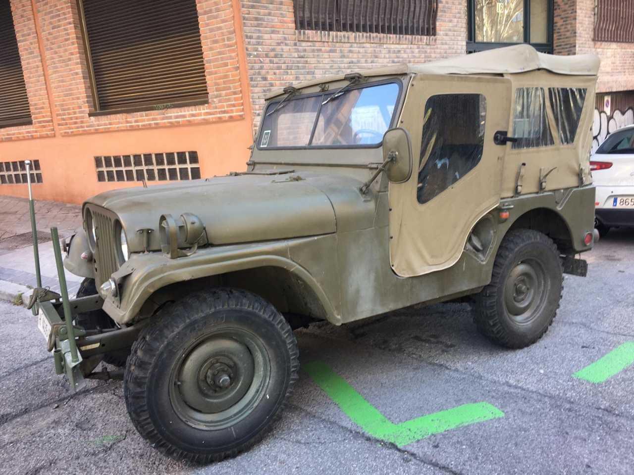 Jeep Willy NEKAF 1953    4X4 GASOLINA  - Foto 1